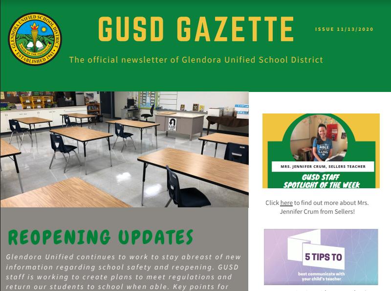 Gazette Preview Picture