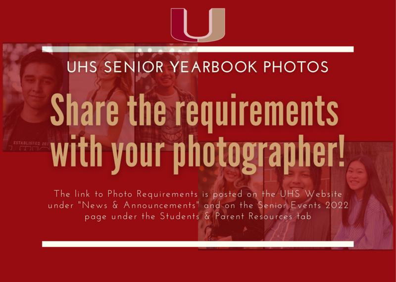 Senior Photo Requirements