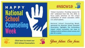 2019 School Counselors Week