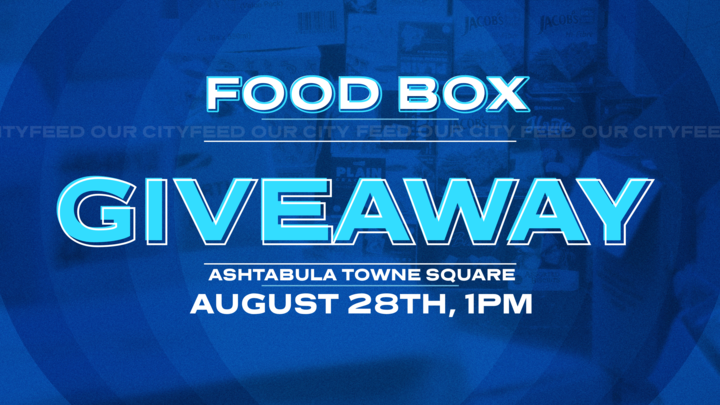 Food Box Giveaway Sponsored by The City Church and Convoy of Hope - 1:00 p.m. on August 28, 2020 at Ashtabula Towne Square Featured Photo