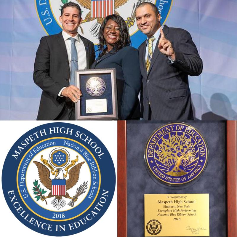 Maspeth High School Principal Reflects on National Blue Ribbon School Achievement Featured Photo