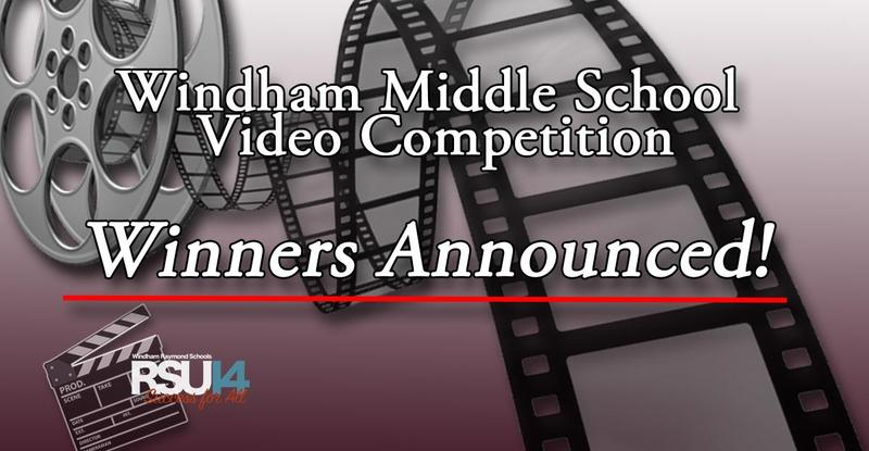 Windham Middle School 2021 Video Competition Winners Announced