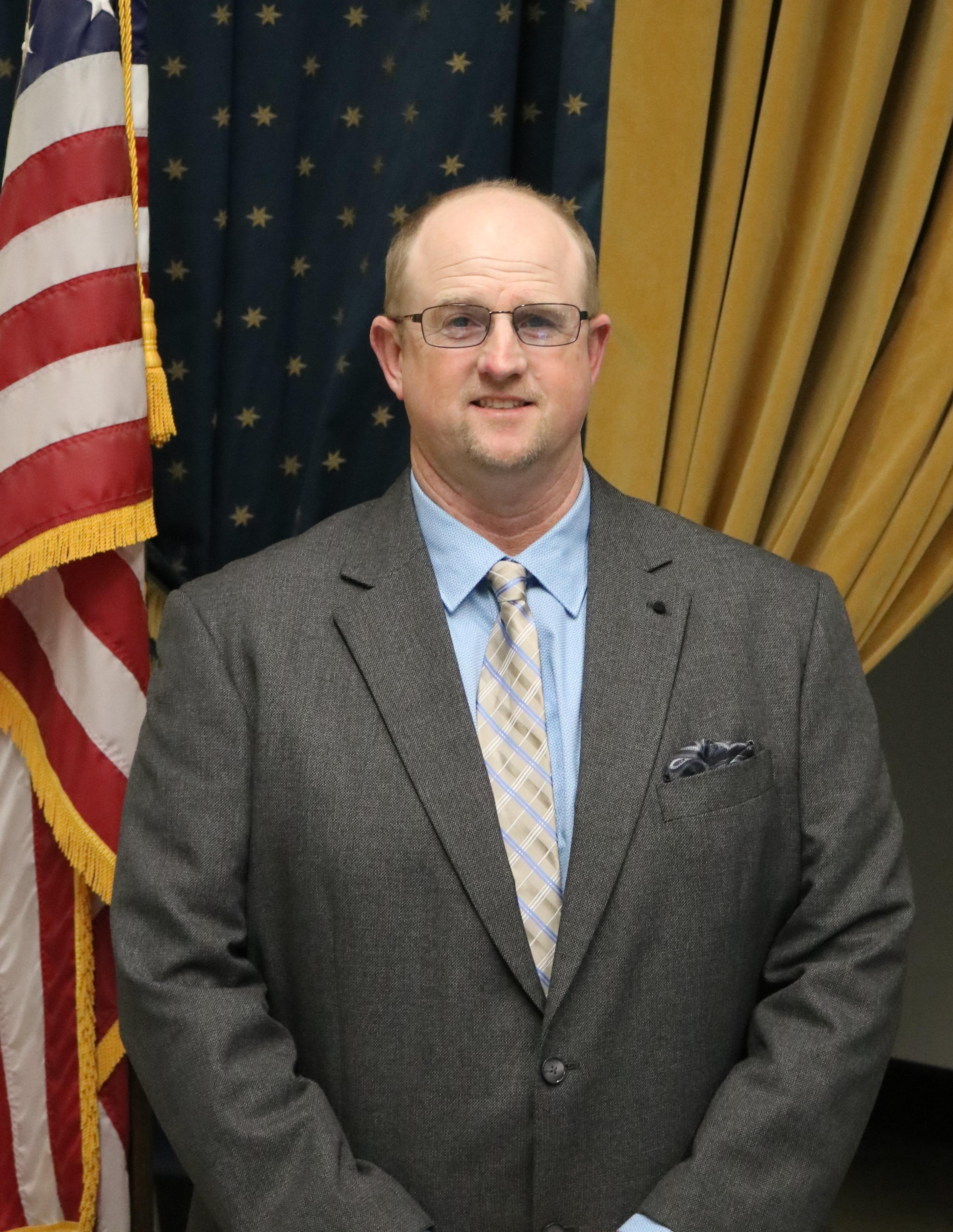 Jeremy O'Banion, Board President