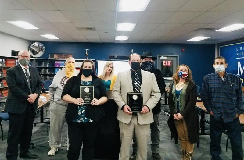 Jessica Haecker, Micah Rowland Named LVUSD Employees of the Month Featured Photo