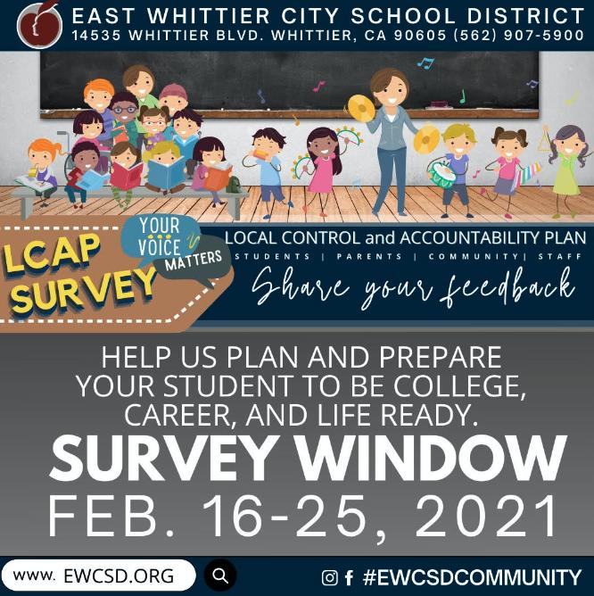 Screenshot of LCAP Survey Postcard