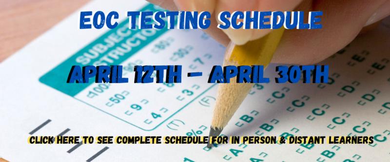 EOC testing link