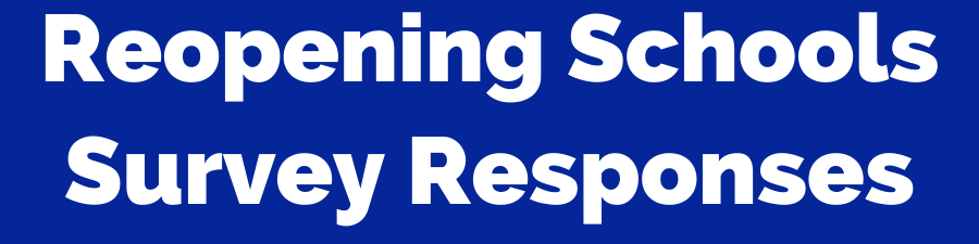 reopening schools survey responses