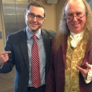 Mr. Blough & Ben Franklin