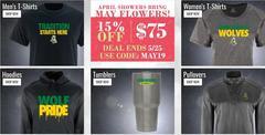 May BSN Promo 15% off $75
