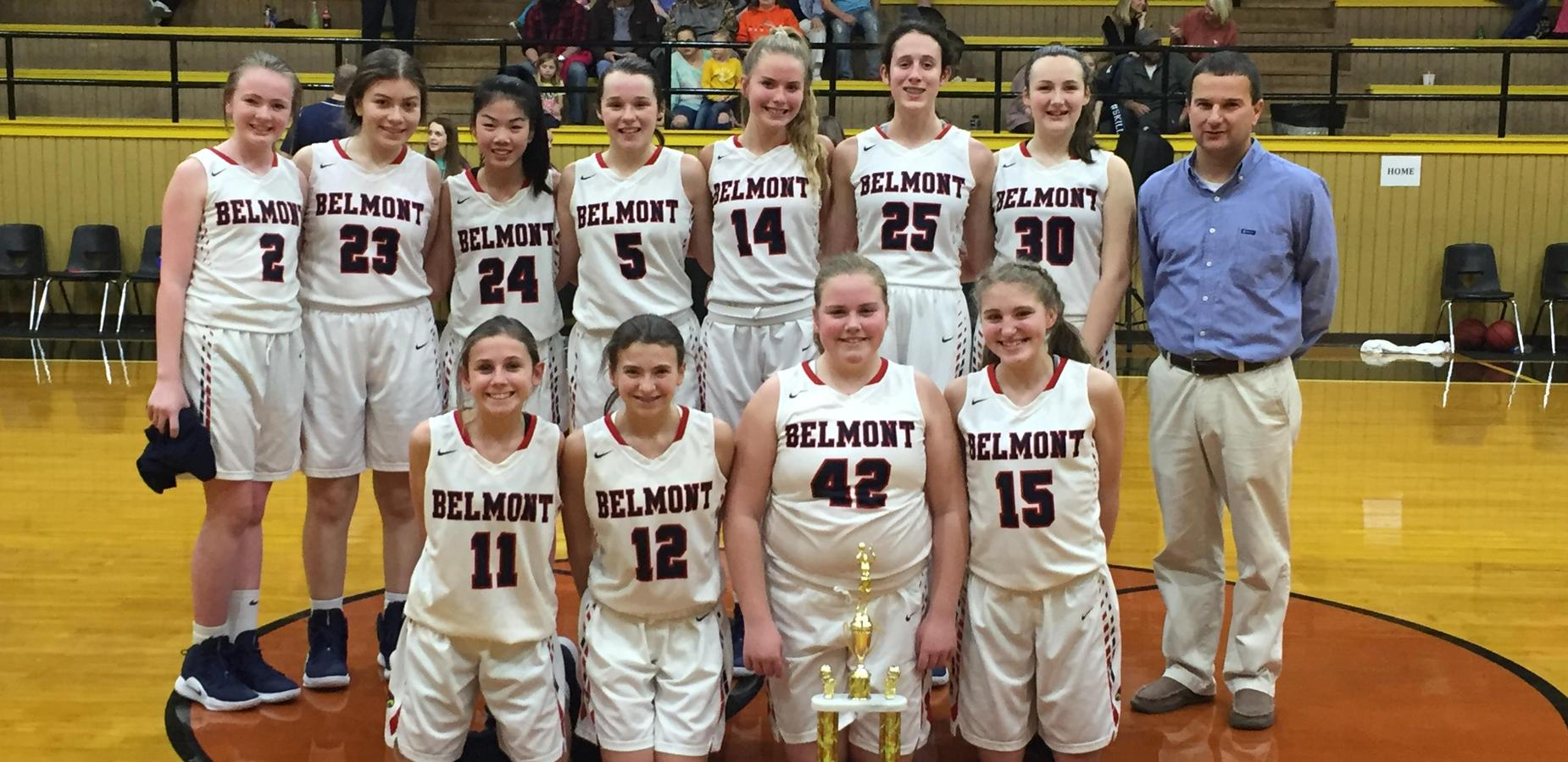 Belmont Girls Win 8th Grade County Tournament
