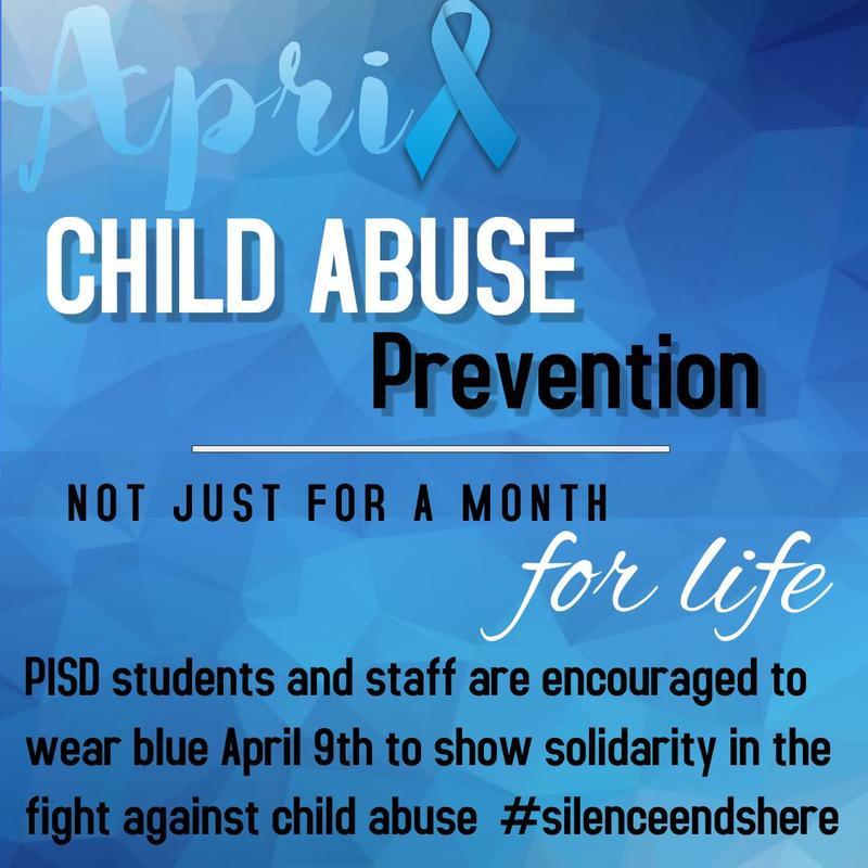 Go Blue for Child Abuse Prevention Thumbnail Image
