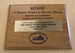 Kovar award