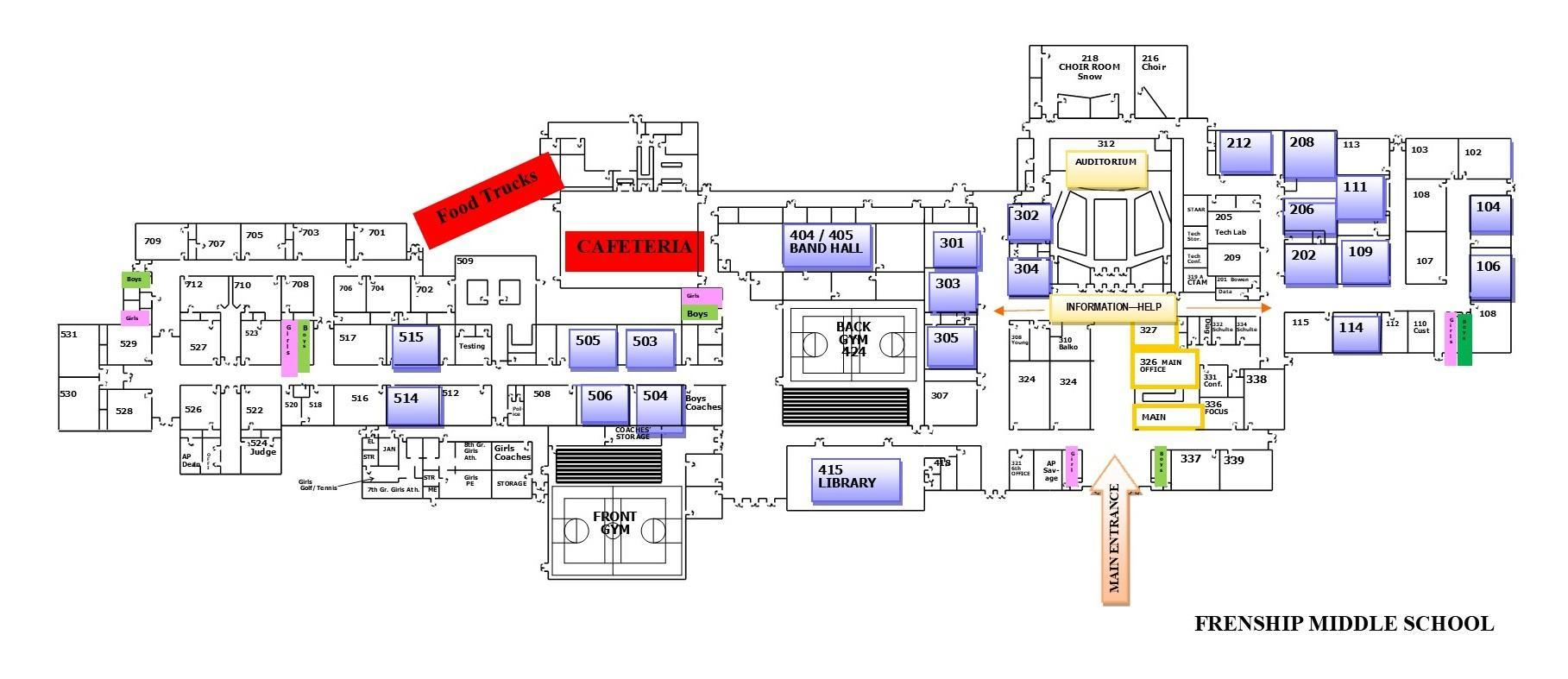 Venue Maps – West Texas Innovation Summit – Frenship ISD
