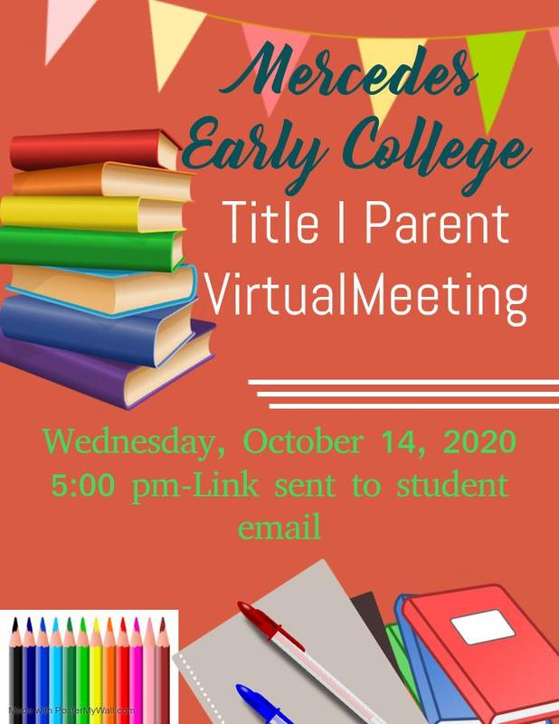 MECA PARENT INFORMATIONAL MEETING - TITLE 1 Featured Photo