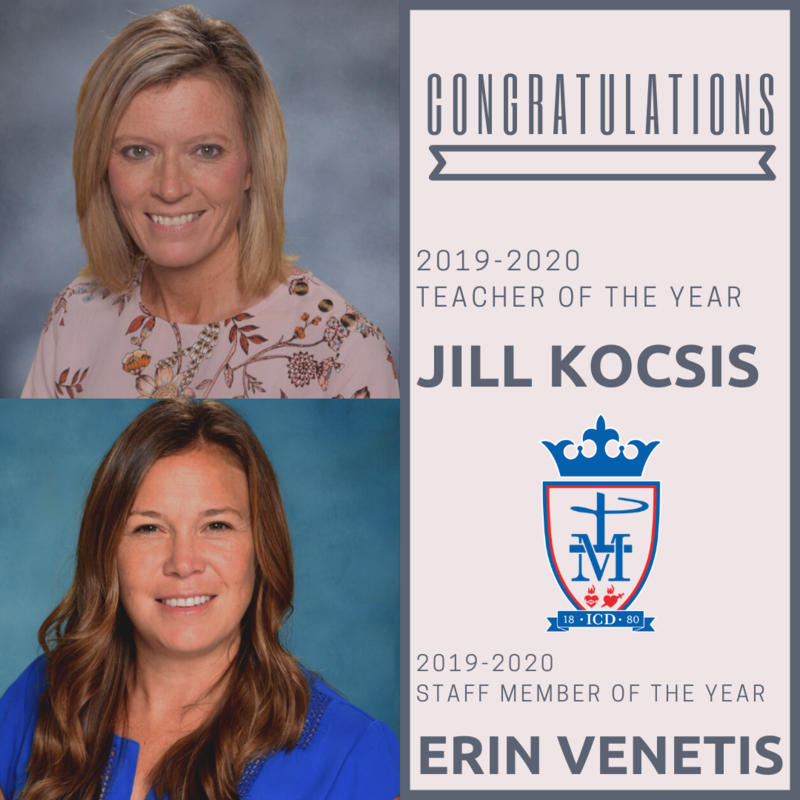 2019-2020 Teacher and Staff Member of the Year Featured Photo