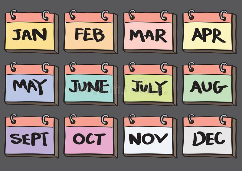 image of months