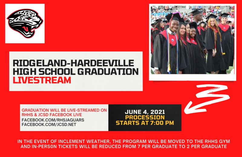 2021 RHHS Graduation Livestream Featured Photo