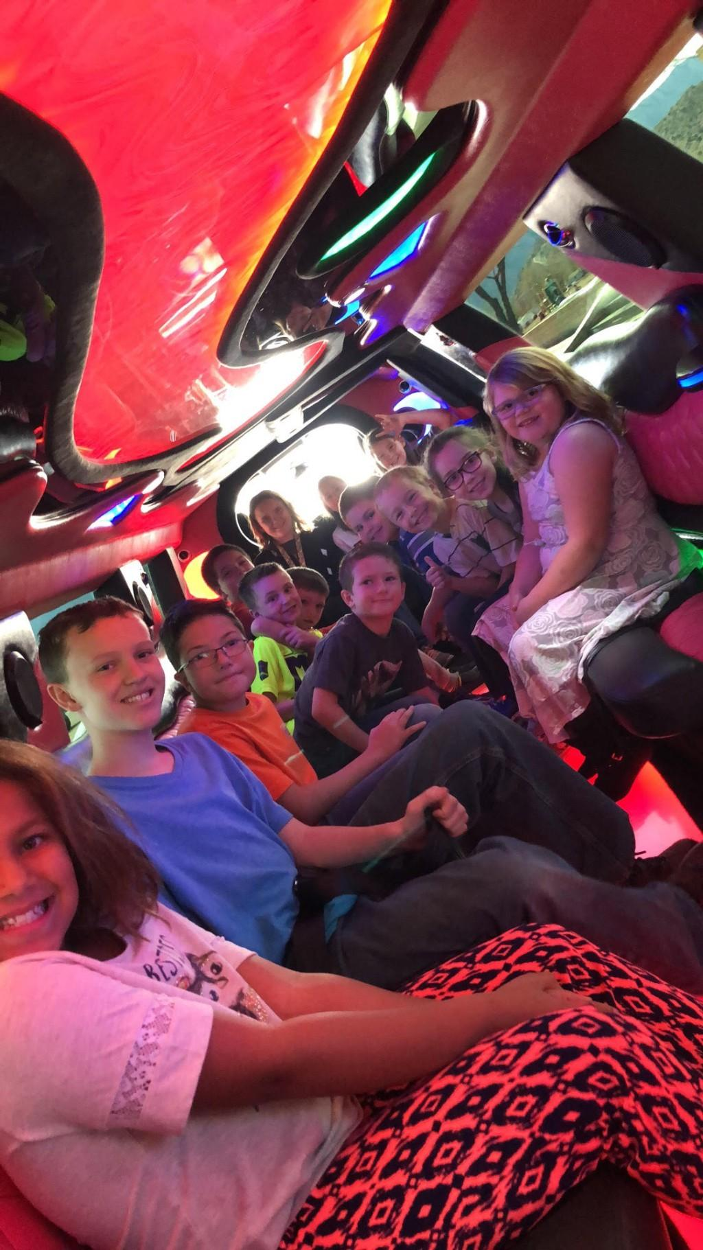 Limo Ride Fundraiser Winners!
