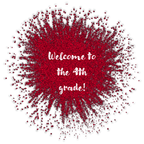 welcome to the 4th grade