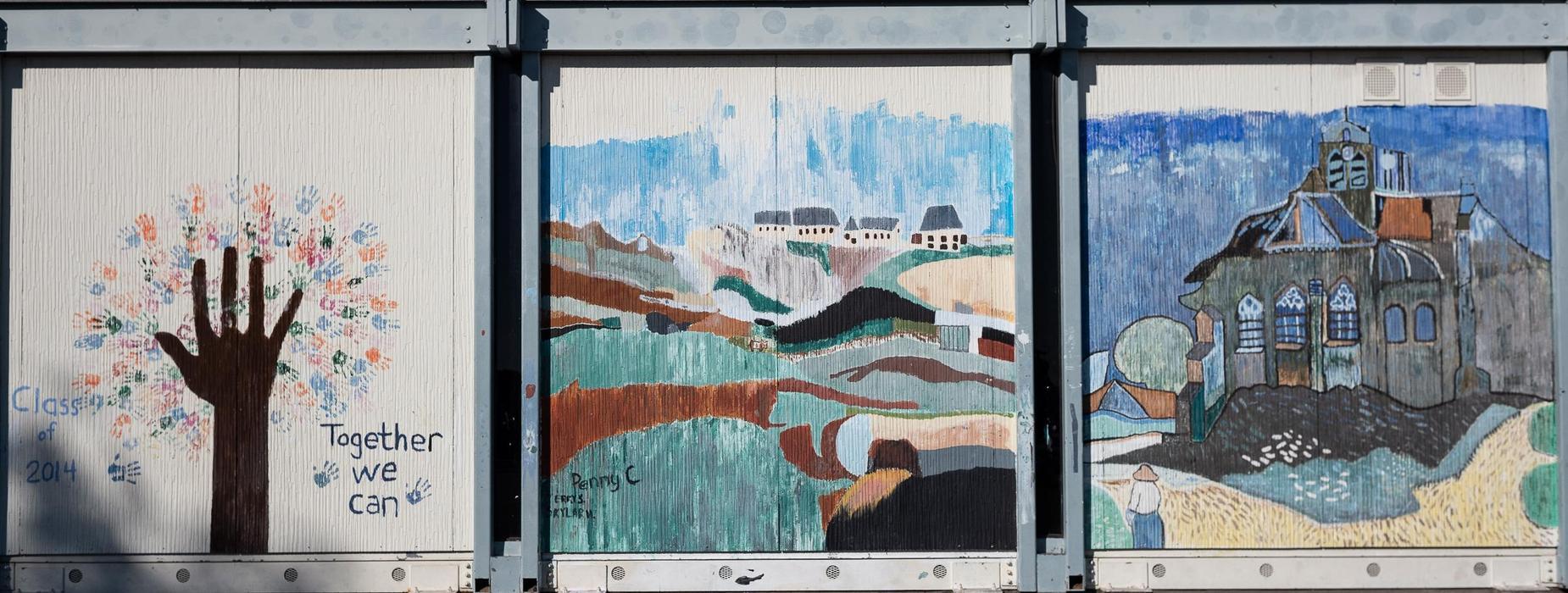 Baldwin Bungalow Painted Art Work