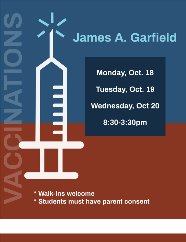 Free Vaccinations! Walk-ins welcomed!