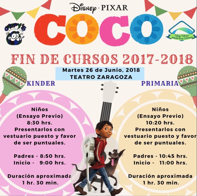 INVITACIÓN EVENTO FIN DE CURSOS