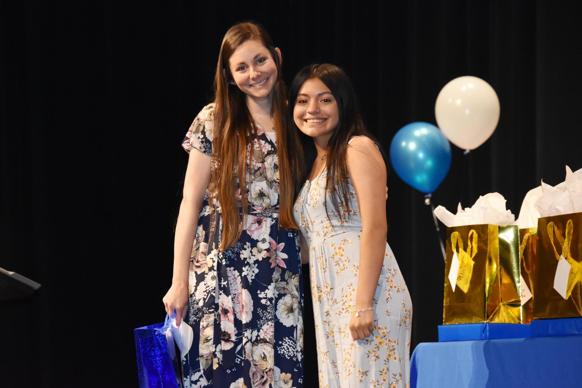 Vicky Hernandez and Cassandra Kneblik