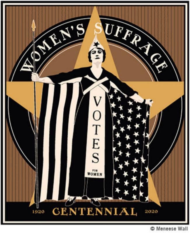 Women Suffrage Centennial Poster
