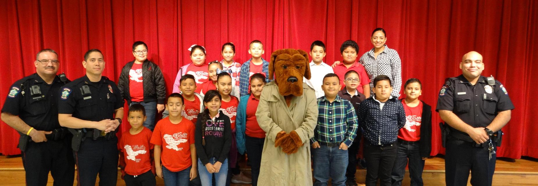 Red Ribbon Week McGruff