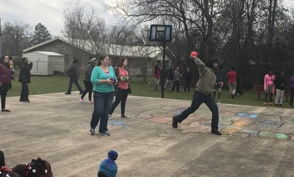PBIS Activity - Student/ Teacher Dodge Ball Game