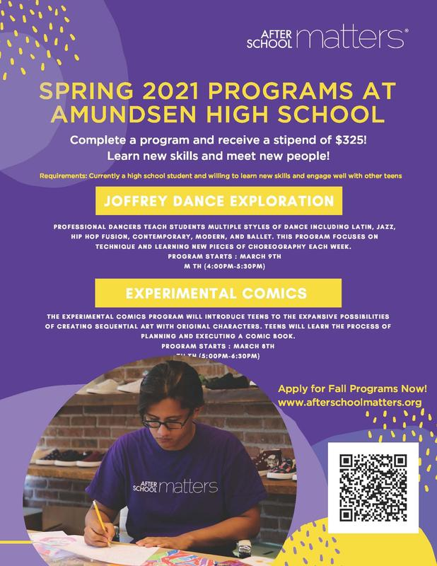 Join ASM for Amazing Arts Programming at AHS this Spring! Featured Photo