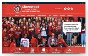Shorewood School District homepage