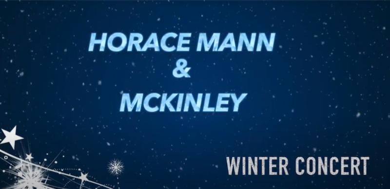Horace Mann Winter Concert