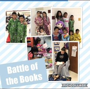 Battle of Books Pic Collage