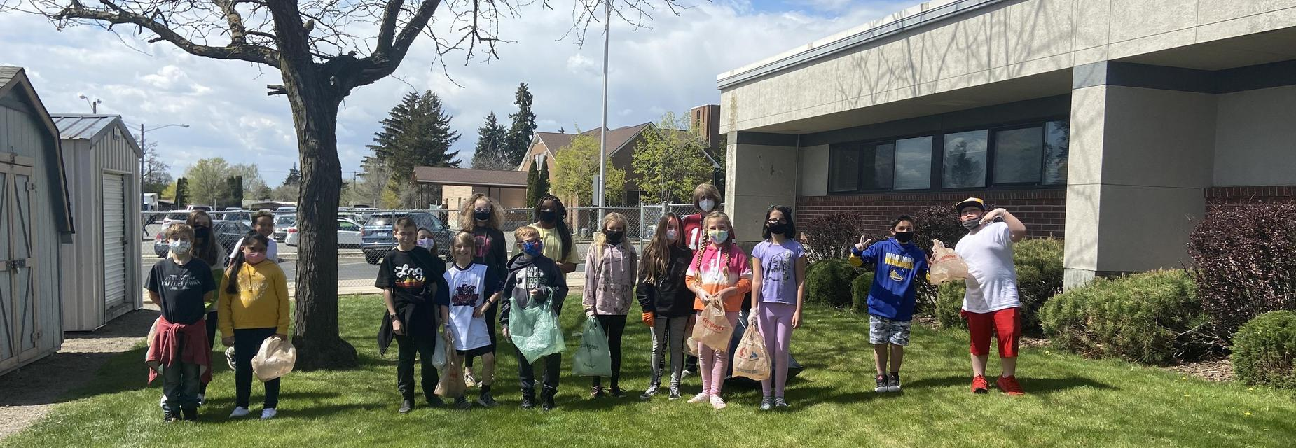 5th grade clean-up