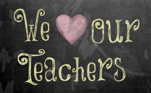 love our teachers