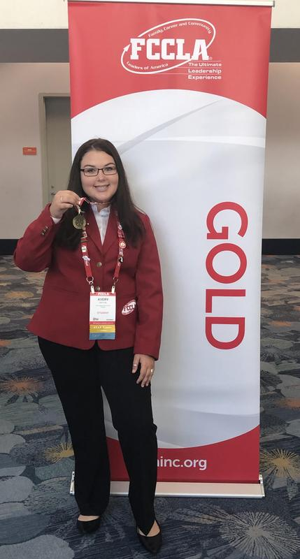 KHS Student Wins Gold at National Conference Thumbnail Image