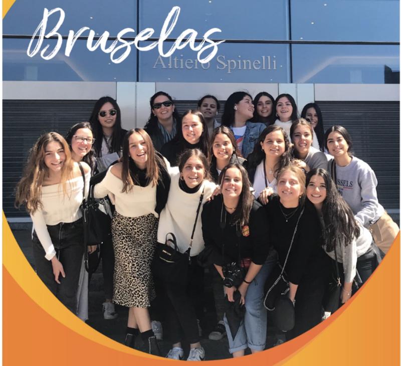 Alumnas del Alpes San Javier visitan Europa, como parte del programa de liderazgo Featured Photo