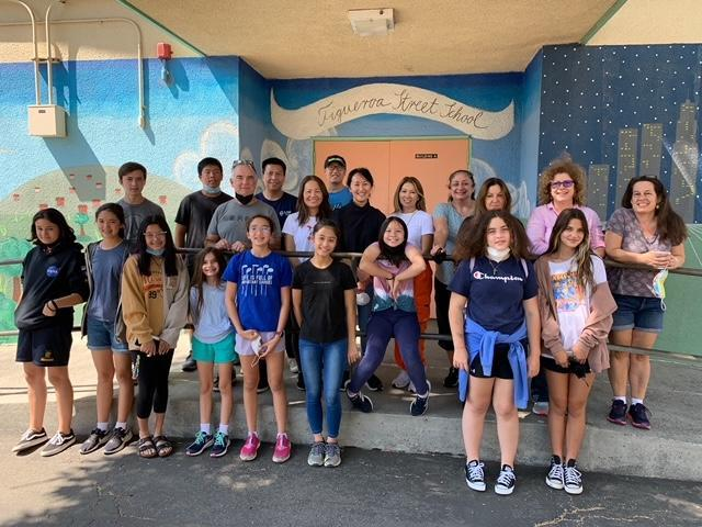 HPA Girl Scout Book Drive Group