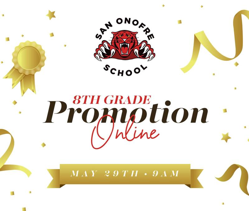 8th Grade Promotion Online | Friday, May 29th at 9 AM Featured Photo