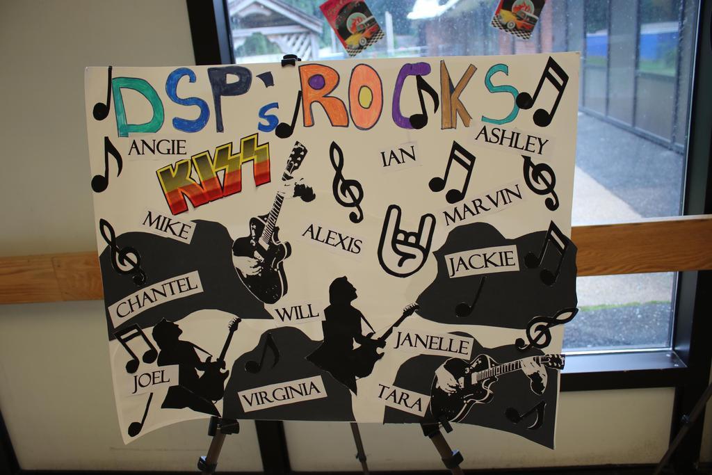 Art poster celebrating DSP Week