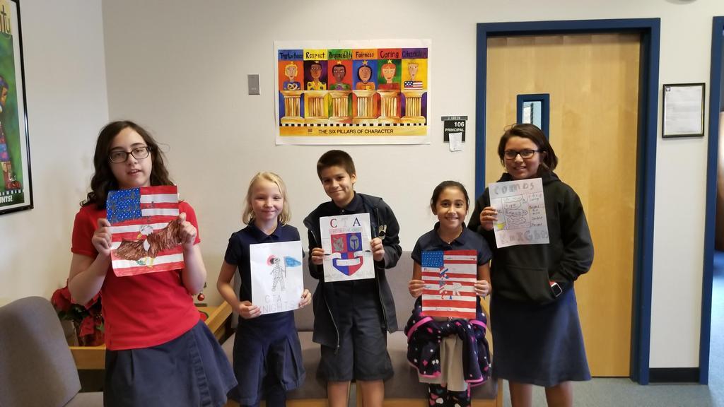 CTA Yearbook Artwork Winners