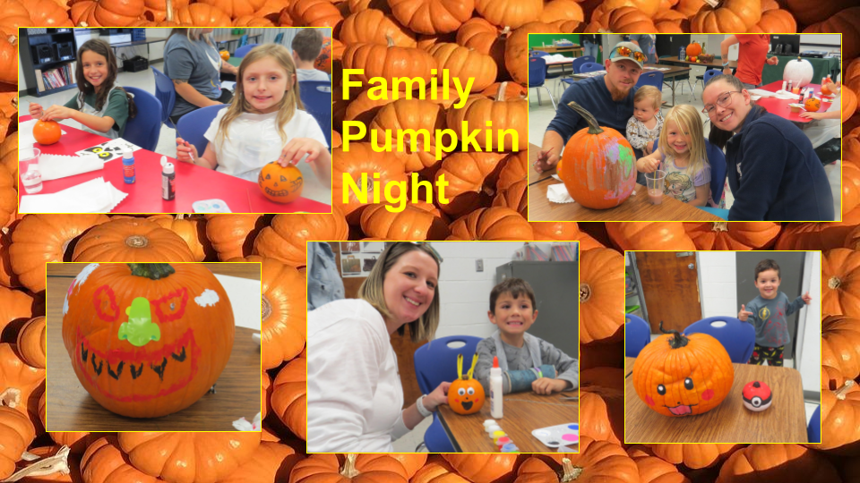 Family pumpkin night