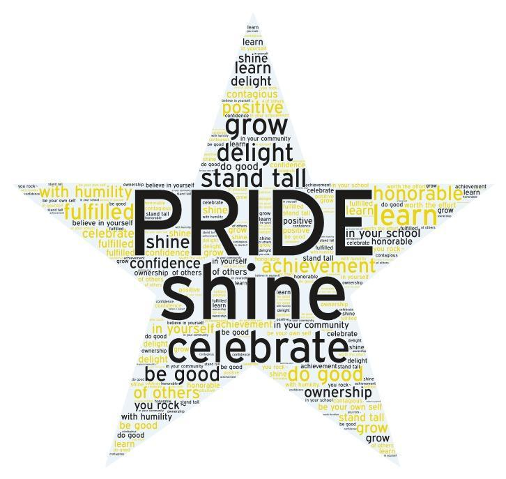 School Culture Theme is PRIDE Featured Photo