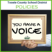 TCSD Policy - You have a voice graphic