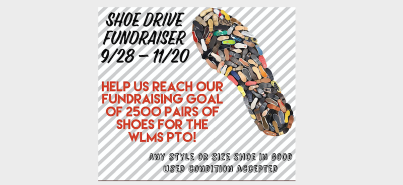 WLMS Shoe Drive Graphic