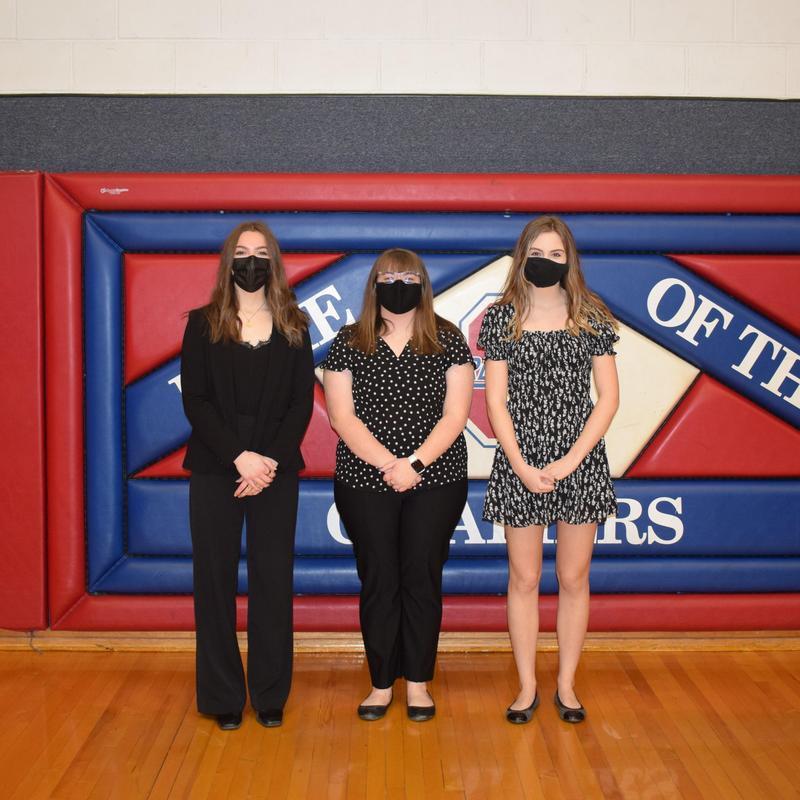 Abby Way, Anna Rogers, and Tori Hartson