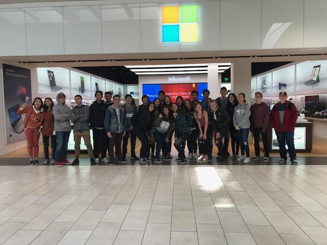 MBA at Microsoft Store