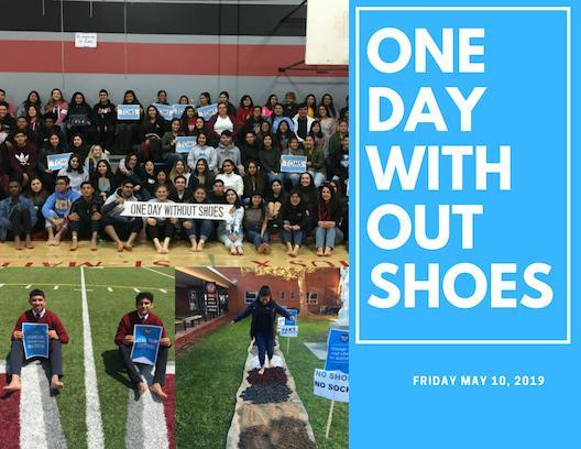 MAY 10th- ONE DAY WITHOUT SHOES Thumbnail Image