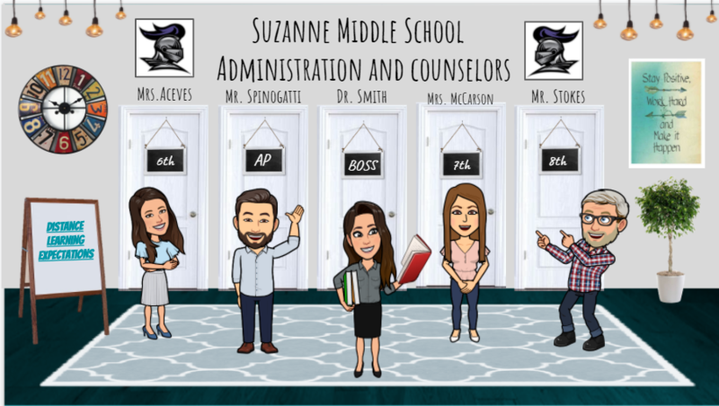 Suzanne Middle School Office Thumbnail Image